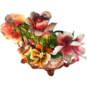 Capodimonte Mixed Floral Arrangement