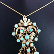 Opal Brooch/Pendant