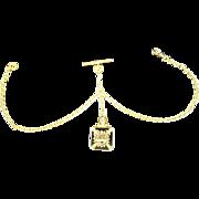 Victorian Masonic Watch Fob and Chain
