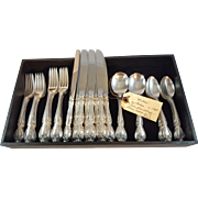 Gorham Sterling flatware service for 8