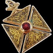 Masonic Watch Fob
