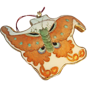 Porcelain Butterfly Pendant