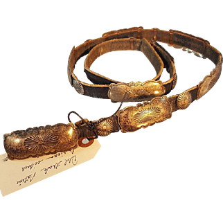 Old Trade Native American Concho Belt