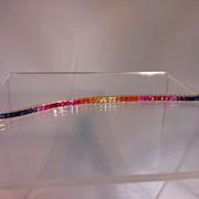 Fancy Sapphire Bracelet