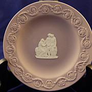Wedgwood Lilac Jasperware Pin Dish