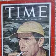 4 TIME Magazine Covers Signed by Artist Ernest Hamlin Baker 1958