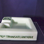 Cie Gle Transatlantique French Line Ashtray