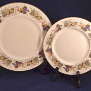 Royal Doulton Ravenna Pattern H4977 Fruit
