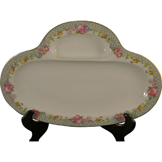 Limoges China Serving Dish - Celery, Asparagus, Bread and Butter