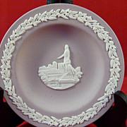 Wedgwood Lilac Jasperware Lord Nelson Dish