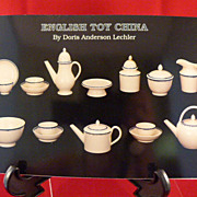 English Toy China Book by Doris Anderson Lechler
