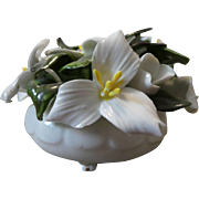 Adderley Bone China Trillium Floral Bouquet