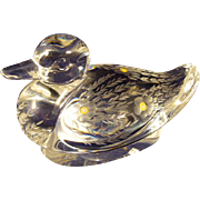 Saint-Louis Crystal Duck La Tour D'argent