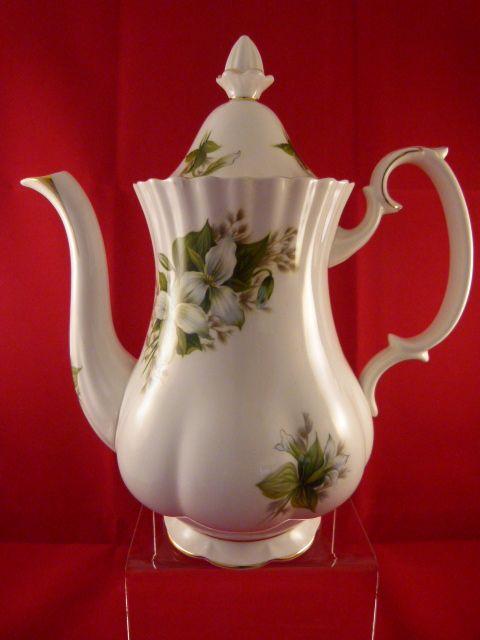 Royal Albert Trillium Coffee Pot