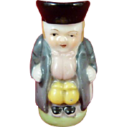 Porcelain Made in Occupied Japan Toby Jug Creamer Seated Man
