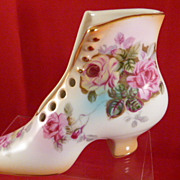 RS Prussia Boot Shoe Vase 5.5 x 3.75 Inches