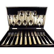 Boxed Presentation Set of English Flatware