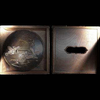 Japanese Bronze Presentation Box
