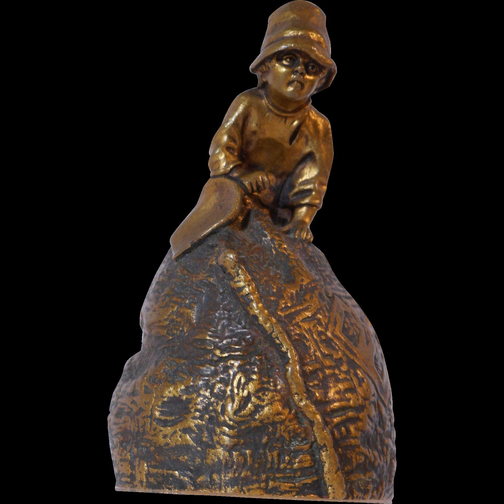 Signed Bronze Bell