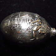 Hatpin in the form of a Football