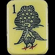 Vintage ROTTGAMES Mah Jong game - 152 tiles