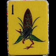 "Vintage ""CHINESE BAKELITE"" Mah Jong game - 152 tiles - Chinese or NMJL rules ready !"