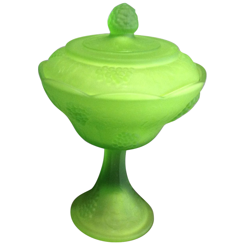Indiana Glass Covered Compote