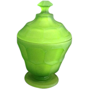 Westmoreland Glass Covered Candy Jar