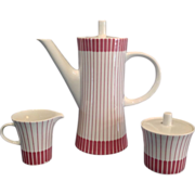 German Porcelain Coffee Set
