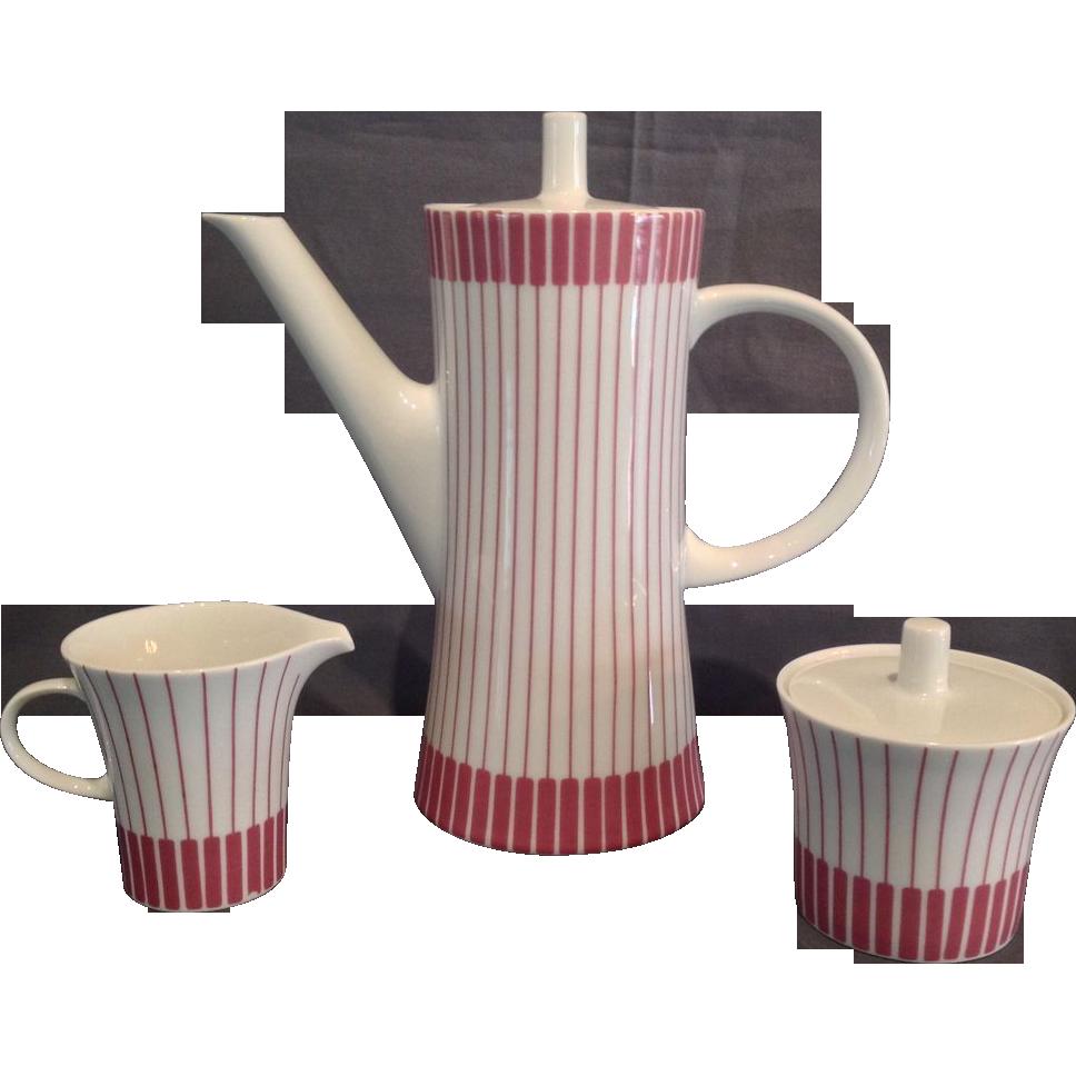 German Porcelain Coffee Set