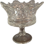 Fostoria Crown Ware Clear Open Compote