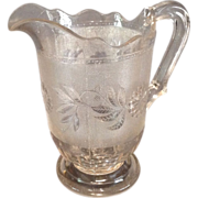 "EAPG ""Dahlia"" Pattern Pitcher"
