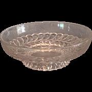"EAPG ""Plume"" Pattern Bowl"