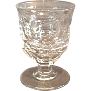 "Flint Glass ""Ashburton"" Pattern Egg Cup"