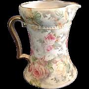 German Royal Bayreuth Porcelain Creamer