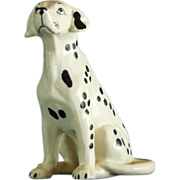 Ceramic Dalmation Figurine