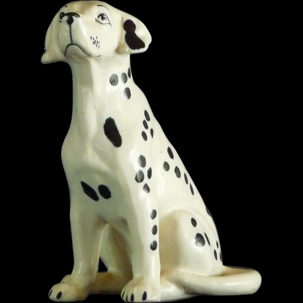 Ceramic Dalmation Figurine
