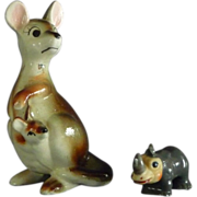 Group of Ceramic Zoo Figurines