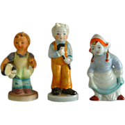 3 Ceramic Happy Kids