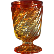 Baccarat Glass Footed Tumbler