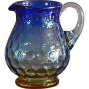 Small Blurina Glass Pitcher
