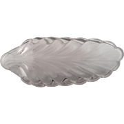 "EAPG ""Crystalina"" Pattern Relish Dish"
