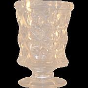 Sandwich Star Pattern Flint Glass