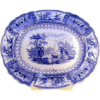 Early Staffordshire Eartherware Platter