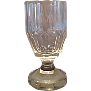 Engraved Crystal Goblet