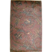 Antique 19th Century French Embossed Wallpaper (2014)