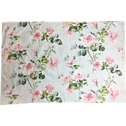 Vintage 1930's Cotton French Floral Fabric (2029)