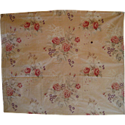 Beautiful Vintage 1930's French Floral Cotton Print Fabric (8839)