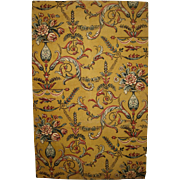 Lovely Antique Late 19th C. French Neoclassic Wallpaper (8979)