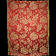 Beautiful 19th C. French Silk Jacquard Fabric (9110)